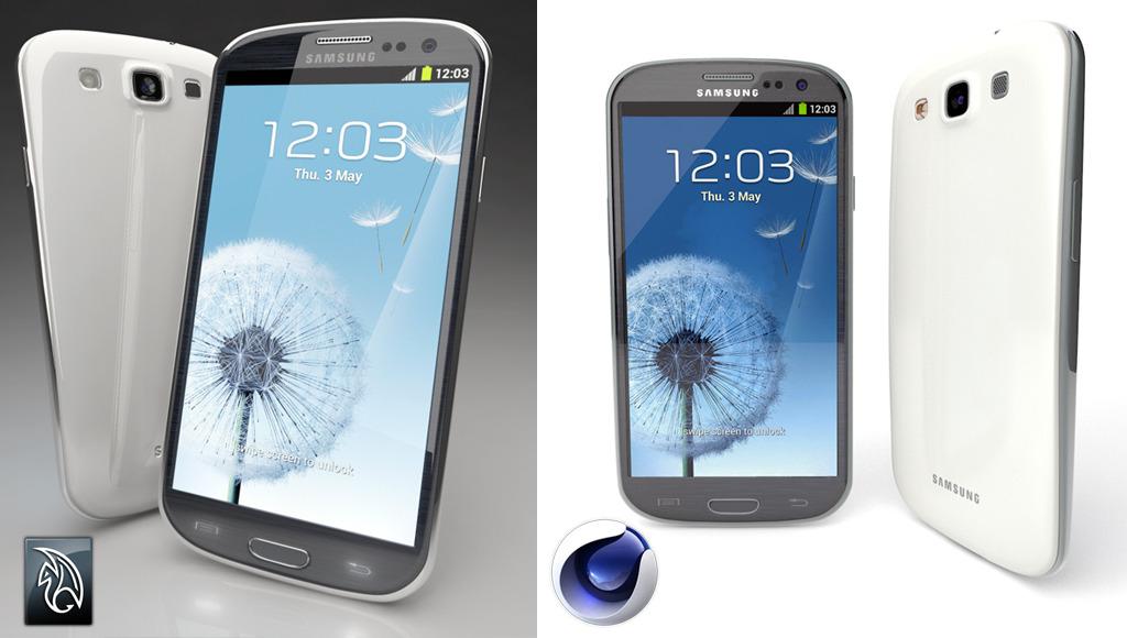 3DOcean Samsung Galaxy S3 2793534