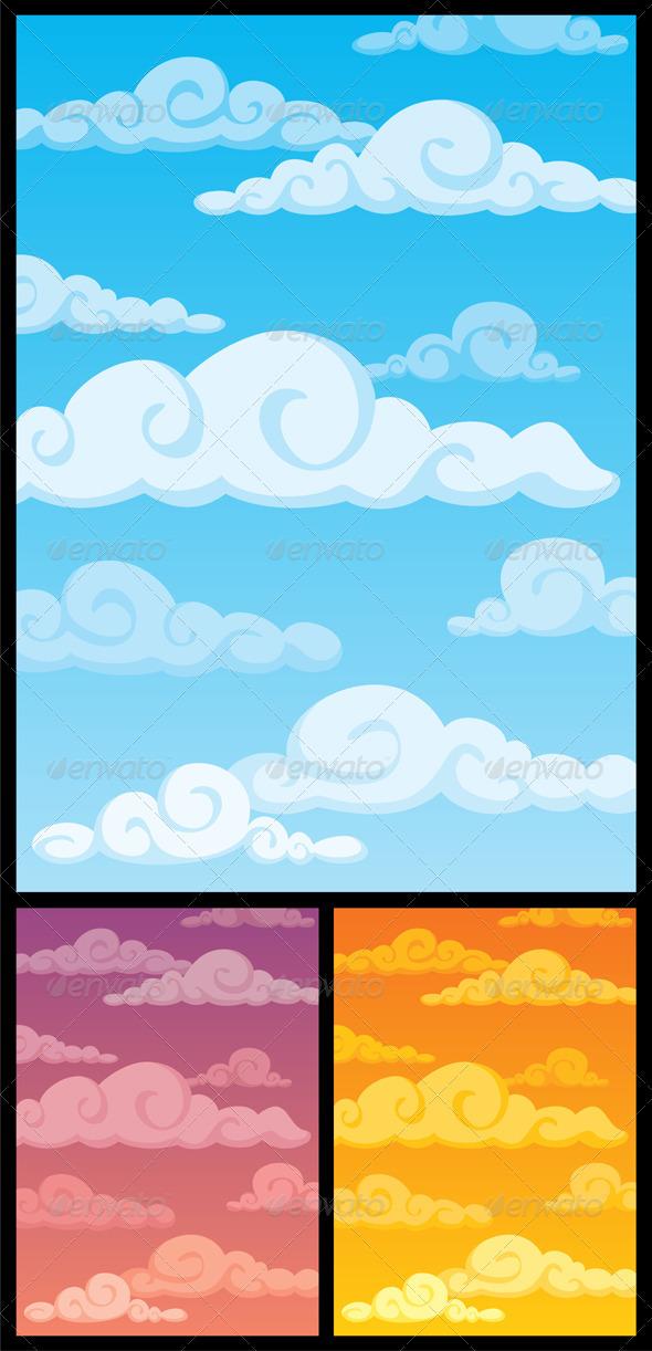 GraphicRiver Cloudscape 100561