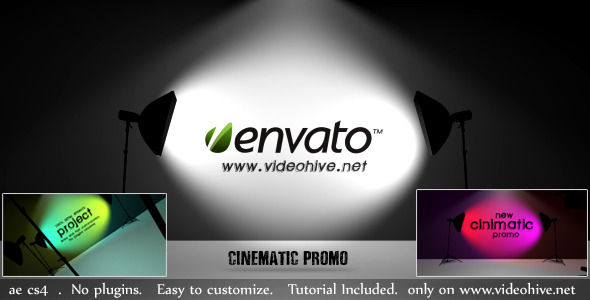After Effects Project - VideoHive Cinematic Promo 2785577