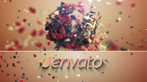 After Effects Project - VideoHive 3D Shatter Reveal 2790420