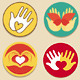Collection of signs for charity organisations - GraphicRiver Item for Sale