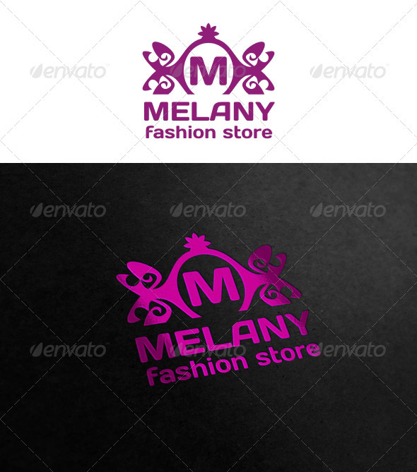Graphic River Melany Logo Templates -  Crests 1031472