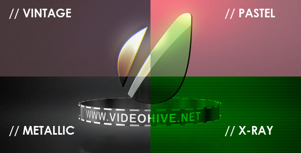After Effects Project - VideoHive Logo Sting 4 Styles 2801708