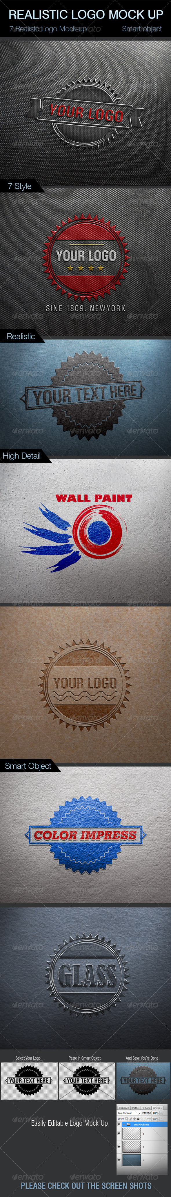 GraphicRiver Realistic Logo Mock-Up 2789494