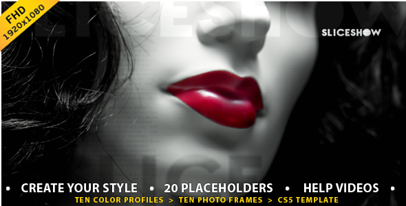 After Effects Project - VideoHive Slices Slideshow 2804421