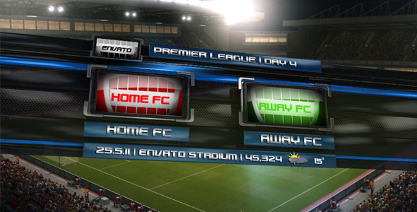 After Effects Project - VideoHive Soccer Pack 2011 301994