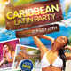 Caribbean Latin Party + Facebook Cover - GraphicRiver Item for Sale