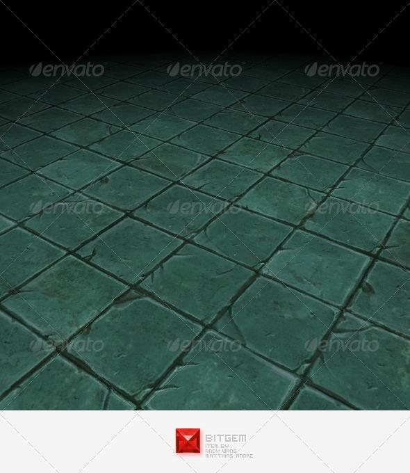 3DOcean Stone Floor Tile 08 2806347