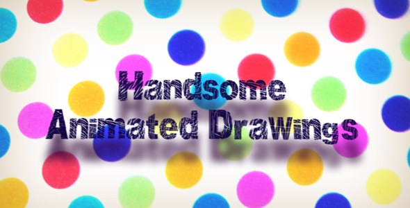 After Effects Project - VideoHive HANDSOME ANIMATED DRAWINGS 101278