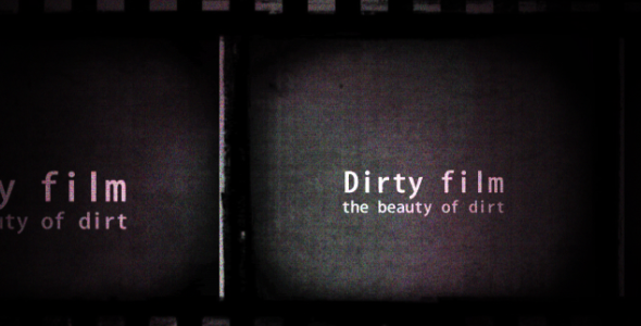 VideoHive Dirty Film Titles 2809446