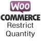 WooCommerce Restrict Quantity - CodeCanyon Item for Sale