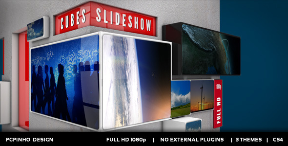 After Effects Project - VideoHive Cubes Slideshow 2822224