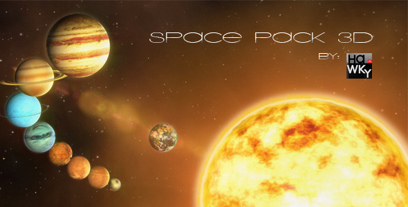 After Effects Project - VideoHive 3D Space Pack 2823743