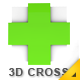 Medical 3D Cross Cube - GraphicRiver Item for Sale