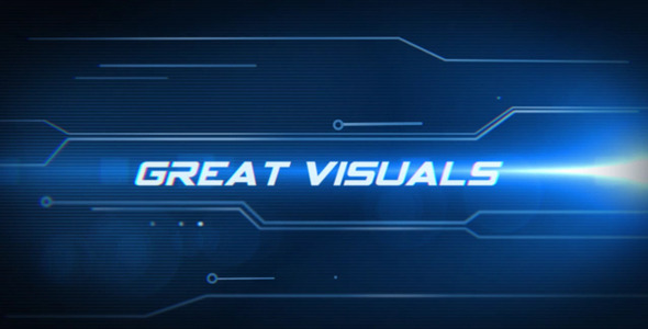After Effects Project - VideoHive Hi-Tech Intro 2818700