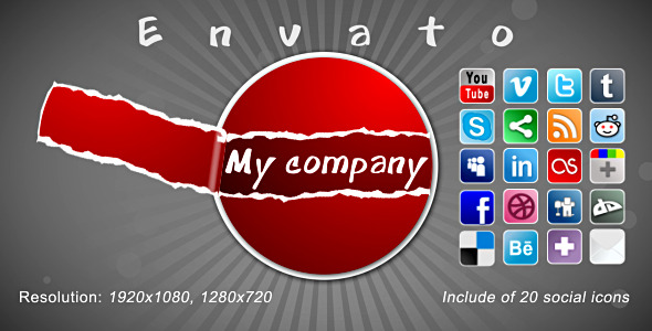 VideoHive Cheerful Presentation For Your Site Or Company 2803449
