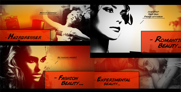 After Effects Project - VideoHive Comic Book Slideshow 2828570