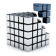 Metal Cubes 03 - GraphicRiver Item for Sale