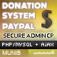 PayPal PHP/MySQL - Donation Form  - CodeCanyon Item for Sale