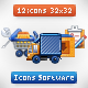 12 - Icons Software - GraphicRiver Item for Sale