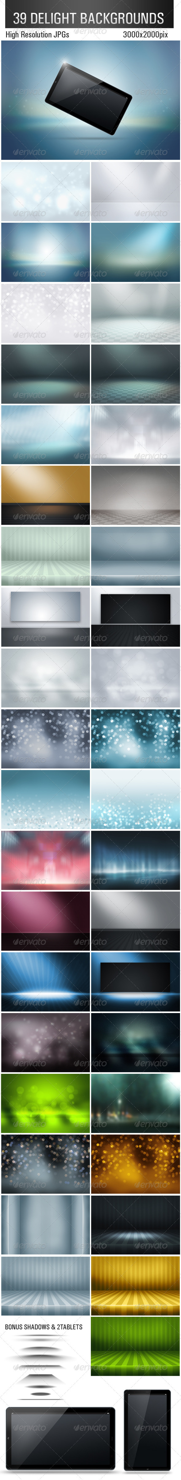 GraphicRiver 39 Delight Backgrounds 2833181