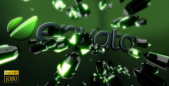 After Effects Project - VideoHive Black Kryptonite Logo 2826890