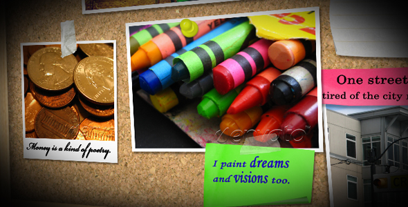 After Effects Project - VideoHive Memo Board 10 102039