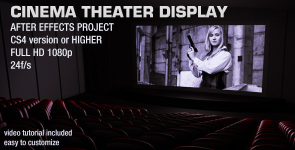 VideoHive Cinema Theater Display 2839314