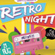 Retro Night Flyer A4 - GraphicRiver Item for Sale