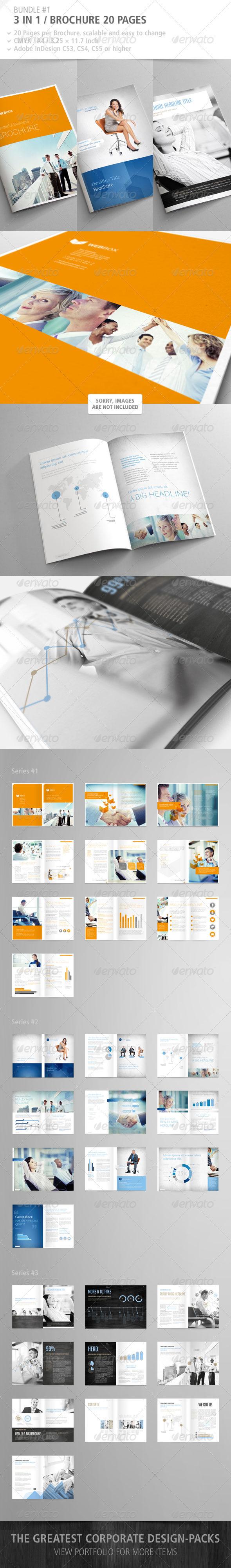 GraphicRiver Brochure 20 Pages Bundle #1 2843464