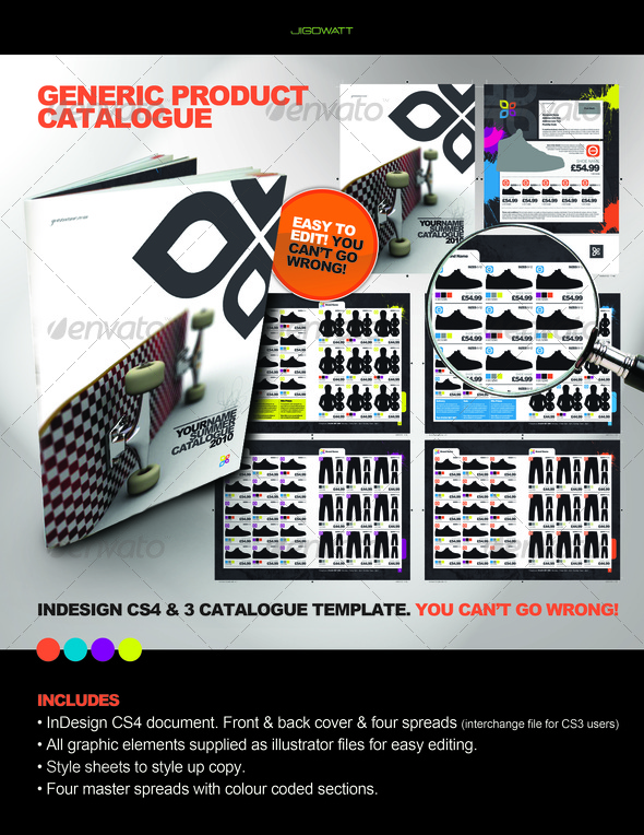 GraphicRiver Product Catalogue 102326