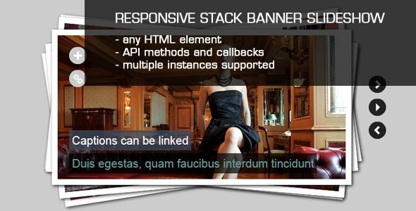 CodeCanyon JQuery Stack Banner Slideshow with Captions 476389