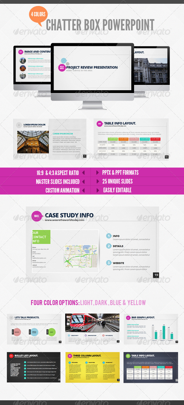 GraphicRiver Chatterbox Powerpoint 2847034