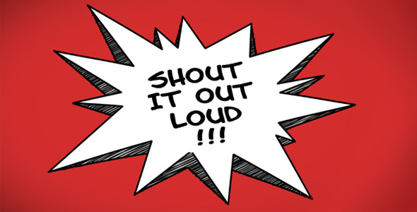 VideoHive Cartoon Speech Bubbles 2850989