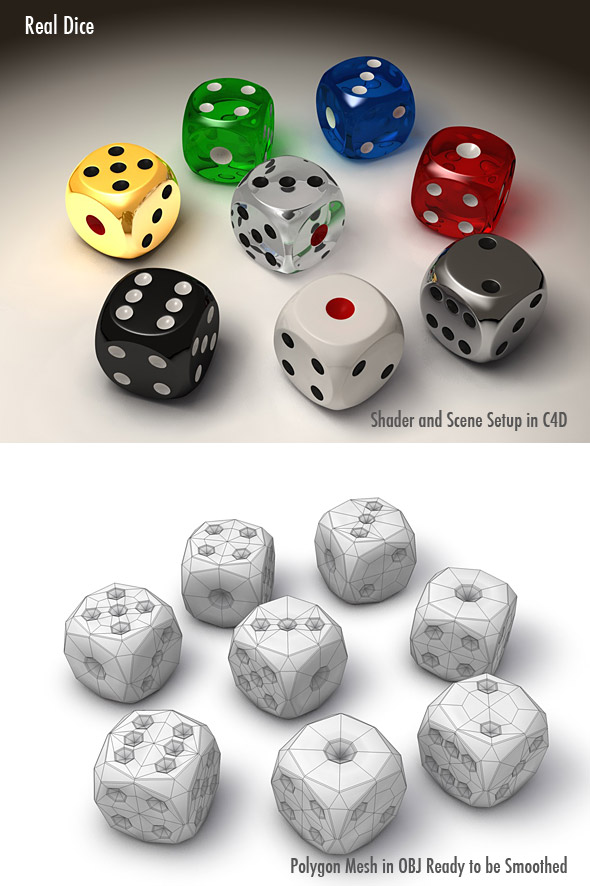 3DOcean Real Dice 102531