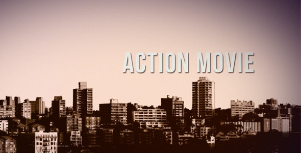 After Effects Project - VideoHive Action Movie Intro 2856126
