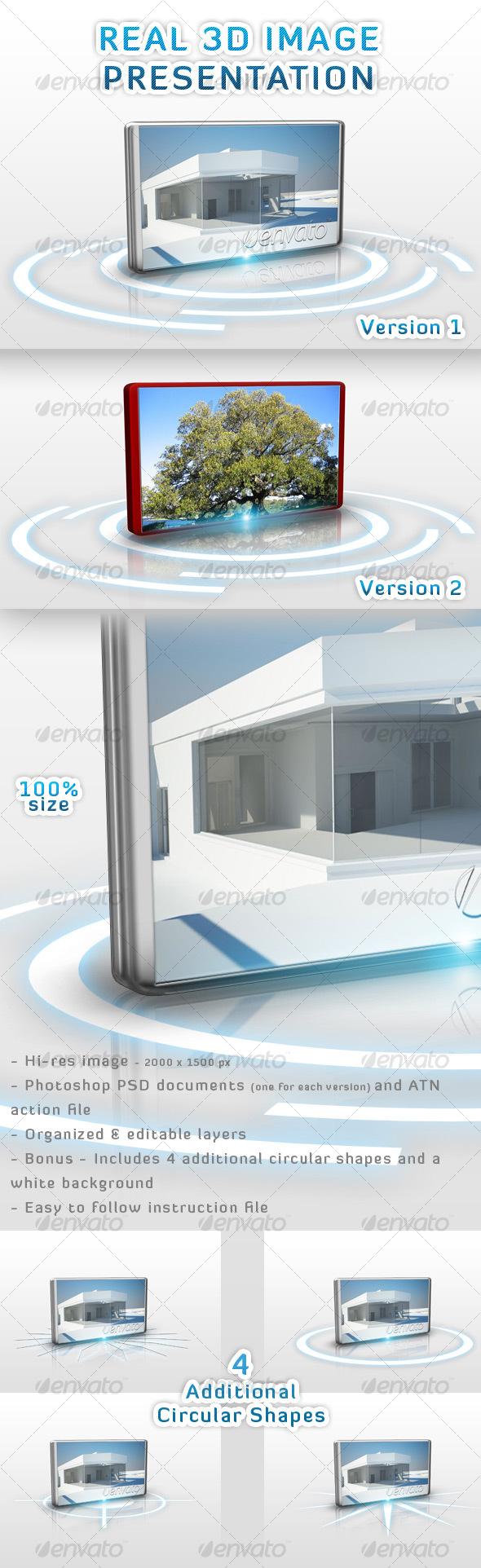 GraphicRiver Real 3D Image Presentation 100759