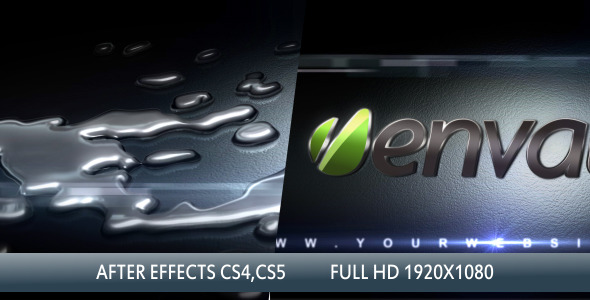 After Effects Project - VideoHive Liquid Metal 3D 2856852