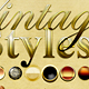 Vintage Text Styles 2 - GraphicRiver Item for Sale