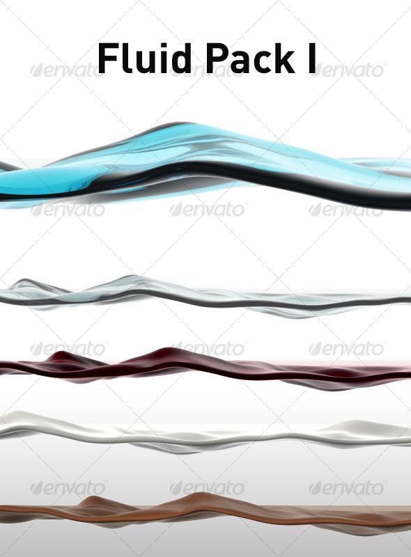 GraphicRiver Fluid Pack I 101809