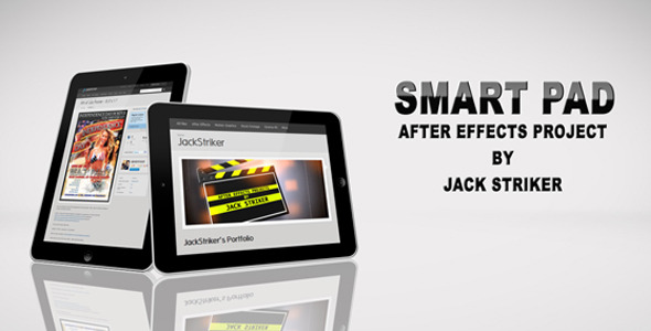 After Effects Project - VideoHive Smart PAD promo 303835