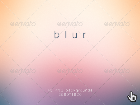 GraphicRiver Blur Deluxe Blurred HD Backgrounds 2862970