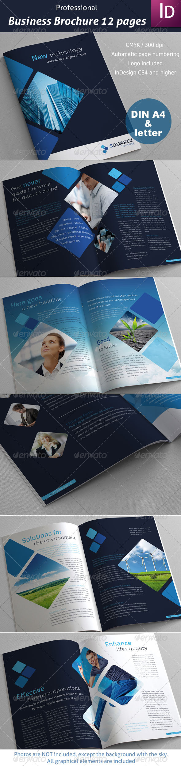 GraphicRiver Business Brochure 12 pages 2864390