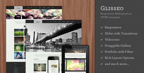 Glisseo - Responsive Multipurpose WordPress Theme - 6