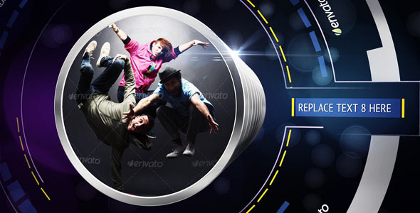 After Effects Project - VideoHive Lens Ring Opener 2864720