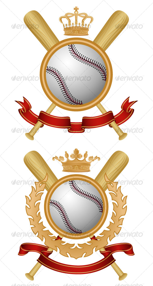 GraphicRiver Baseball Coat of Arms 102918