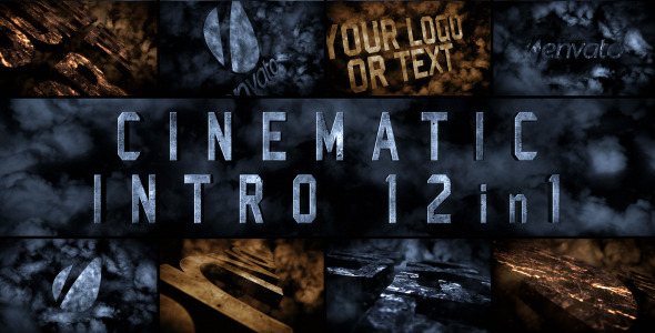 After Effects Project - VideoHive Cinematic Intro 12in1 2866170