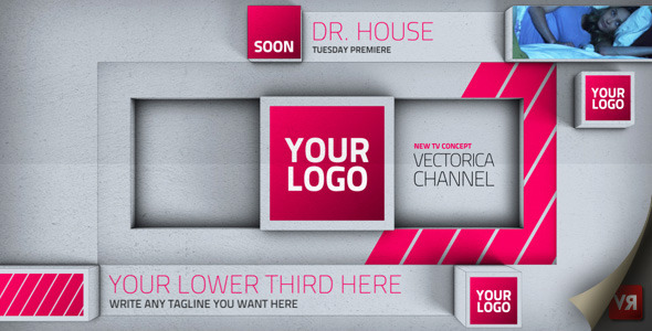 After Effects Project - VideoHive Blocks Broadcast channel pack 2846993
