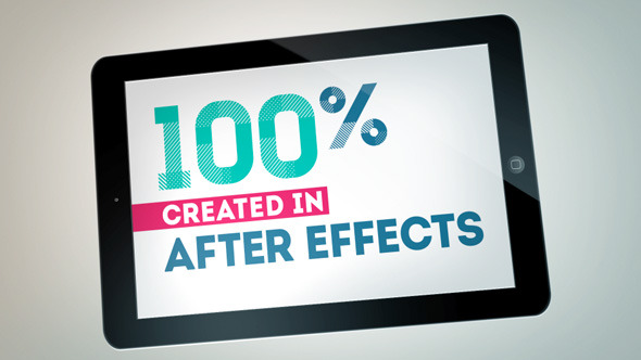After Effects Project - VideoHive Simple Tablet 2867906
