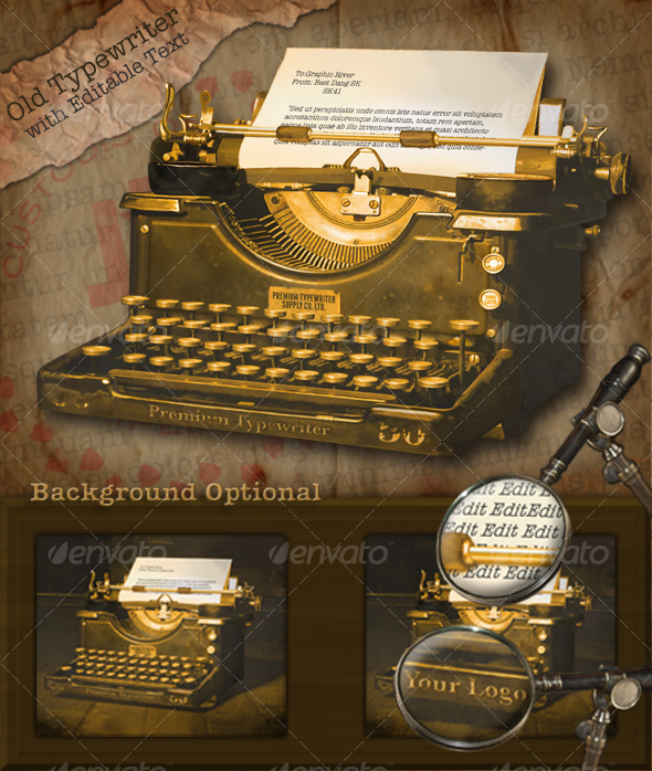 GraphicRiver Old Typewriter 101696